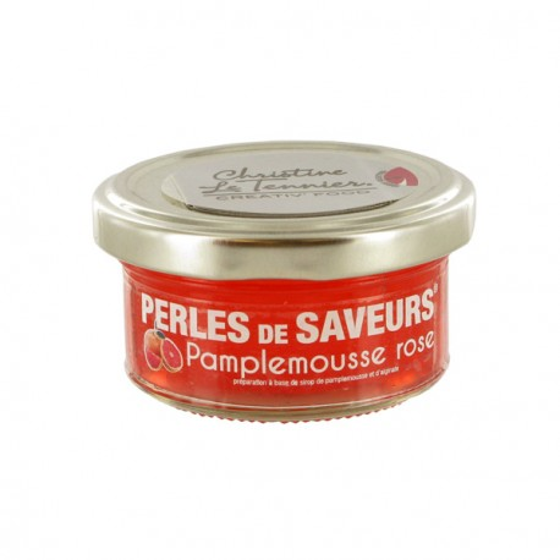 Perles de Saveurs Pamplemousse Rose 50 g