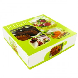 Boîte à tarte Aurélien (x50)