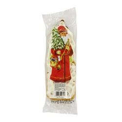 Père Noël en pain d'épices glacé au sucre x3