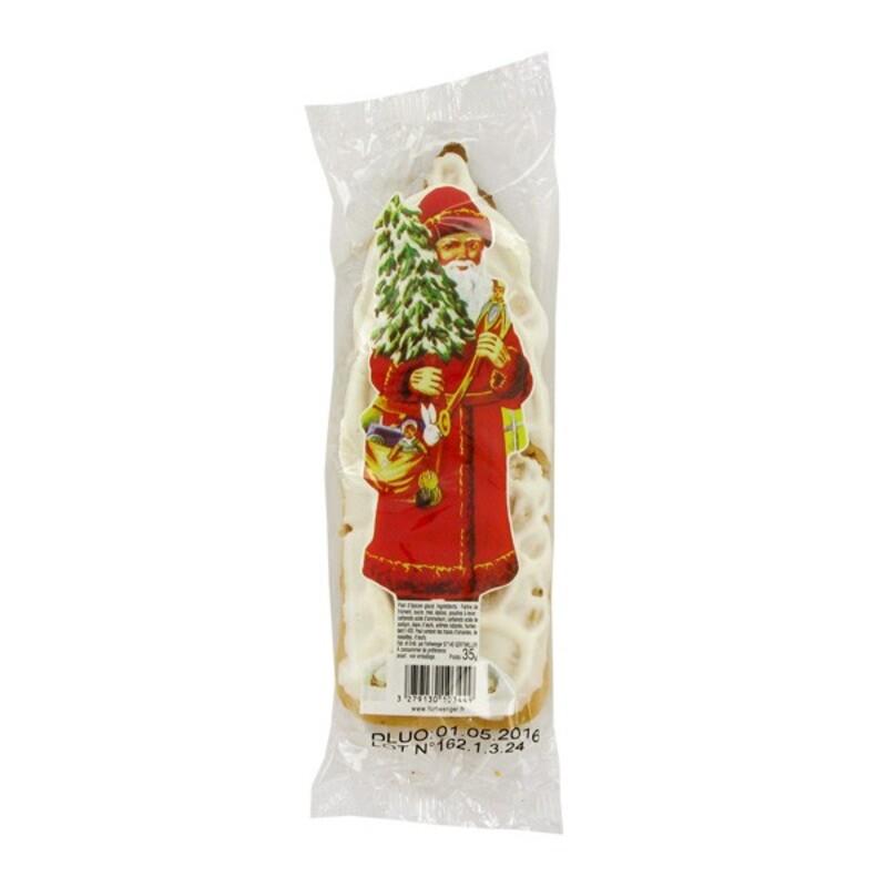Père Noël en pain d'épices x3