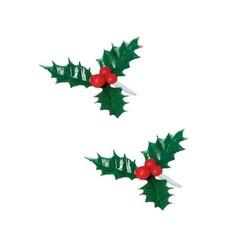 Houx triple vert ø 5 cm (x144)