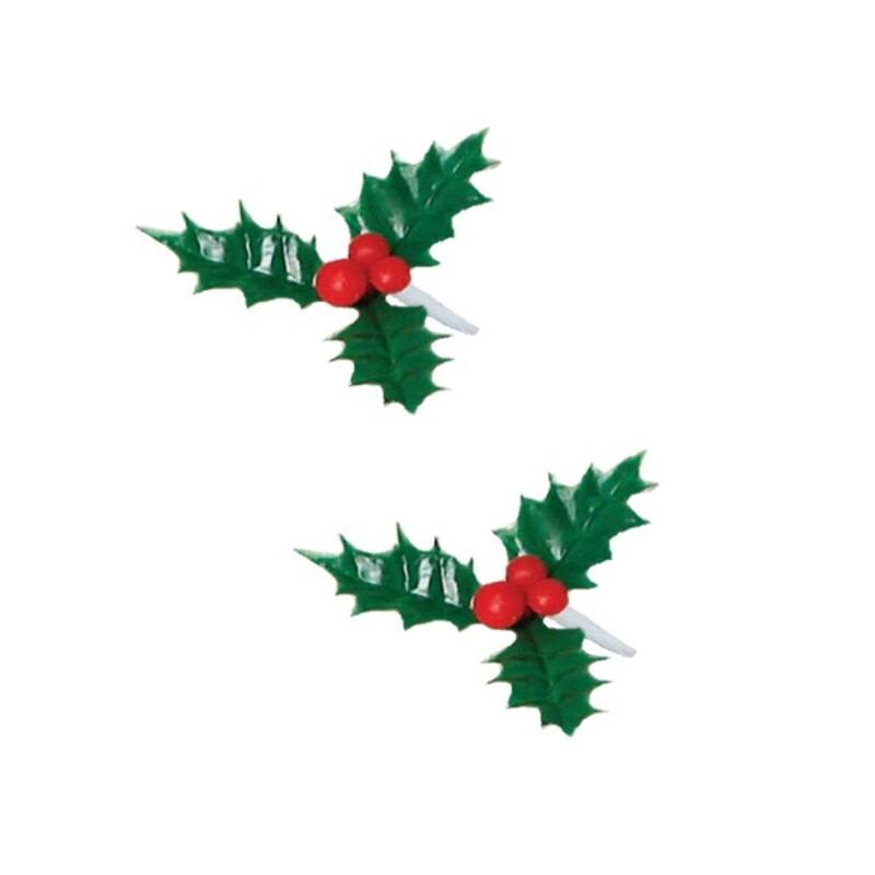 Houx triple vert ø 5cm (x144)