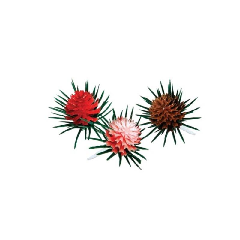 Pommes de pin assorties sur pique (x 144)