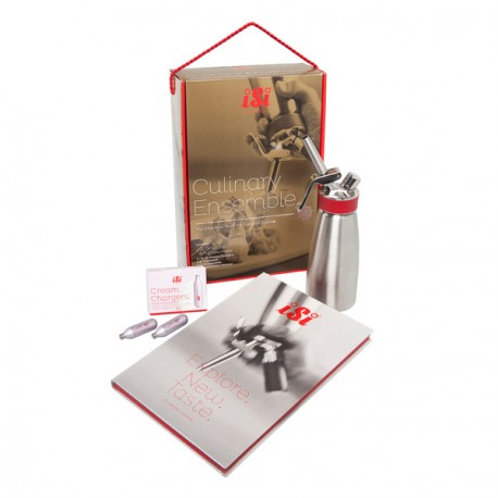 Coffret siphon ISI Culinary