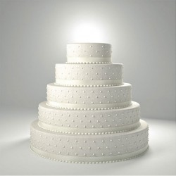 Kit complet pour wedding cake