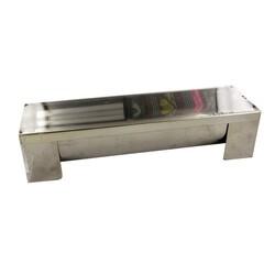 Gouttière à bûche carrée 30 x 8 cm De Buyer
