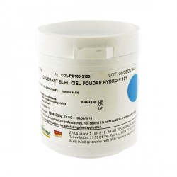 Colorant poudre alimentaire Bleu Ciel 100 g