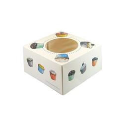 Boîte à 4 cupcakes Funcakes (x3)