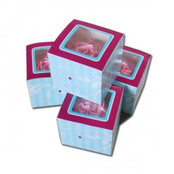 Boîte à cupcake Elegant Funcakes (x4)