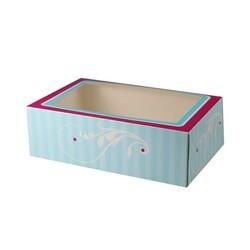 Boîte 12 cupcakes Elegant Funcakes