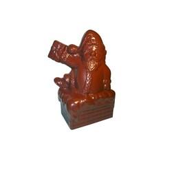 Moule chocolat Père Noël cheminée
