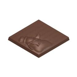 Moule chocolat tablettes bonhomme de neige