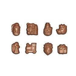 Moule chocolat Sujets de Noel modernes