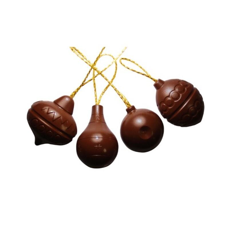 moule chocolat professionnel boules de noel assorties. Black Bedroom Furniture Sets. Home Design Ideas