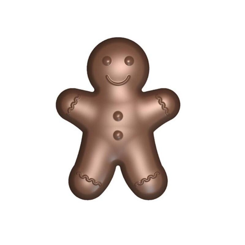 Moule chocolat Bonhomme pain d'épices
