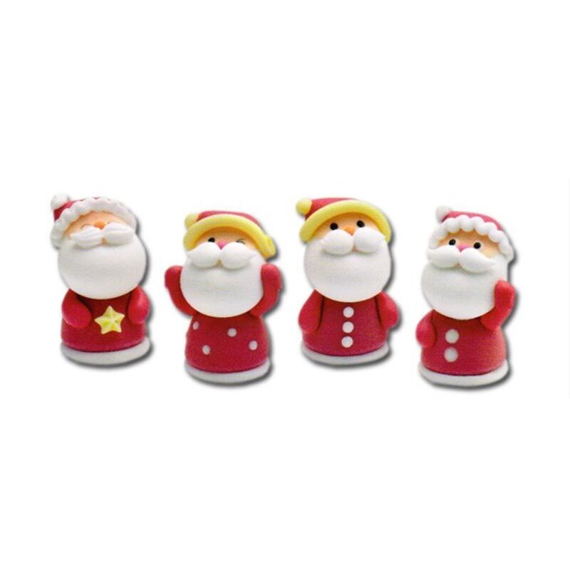 Père Noël en sucre assortis x48