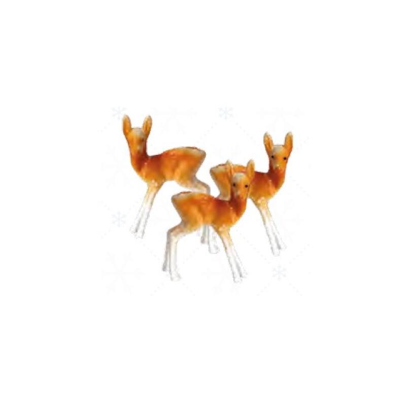 Cerfs en plastique 5 cm (x144)