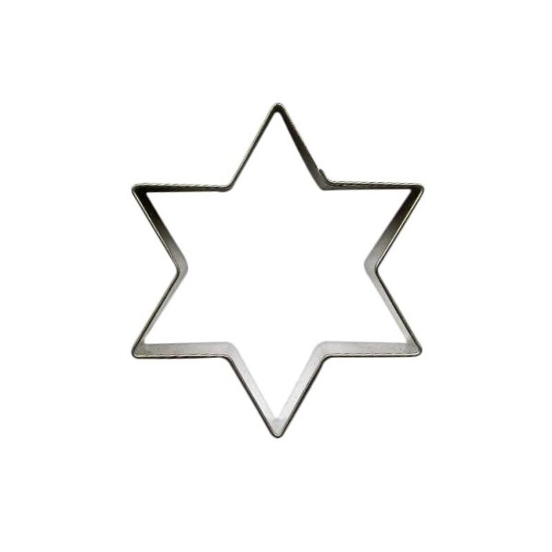 Emporte-pièce étoile 7,7 cm