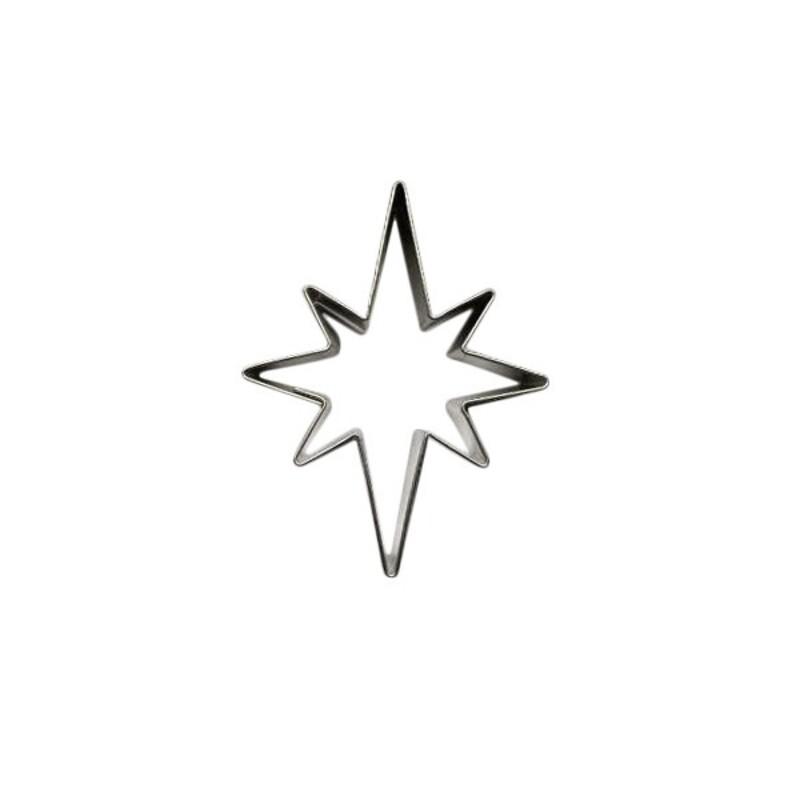 Emporte-pièce étoile pointue 5 cm