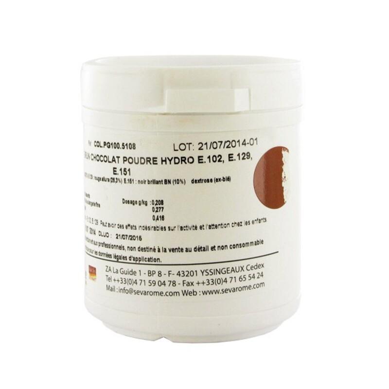 Colorant poudre alimentaire Chocolat 100 g