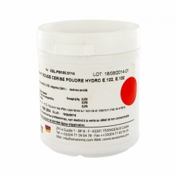 Colorant poudre alimentaire Rouge Cerise 100 g