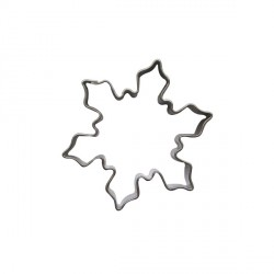 Emporte-pièce cristal de neige 5 cm