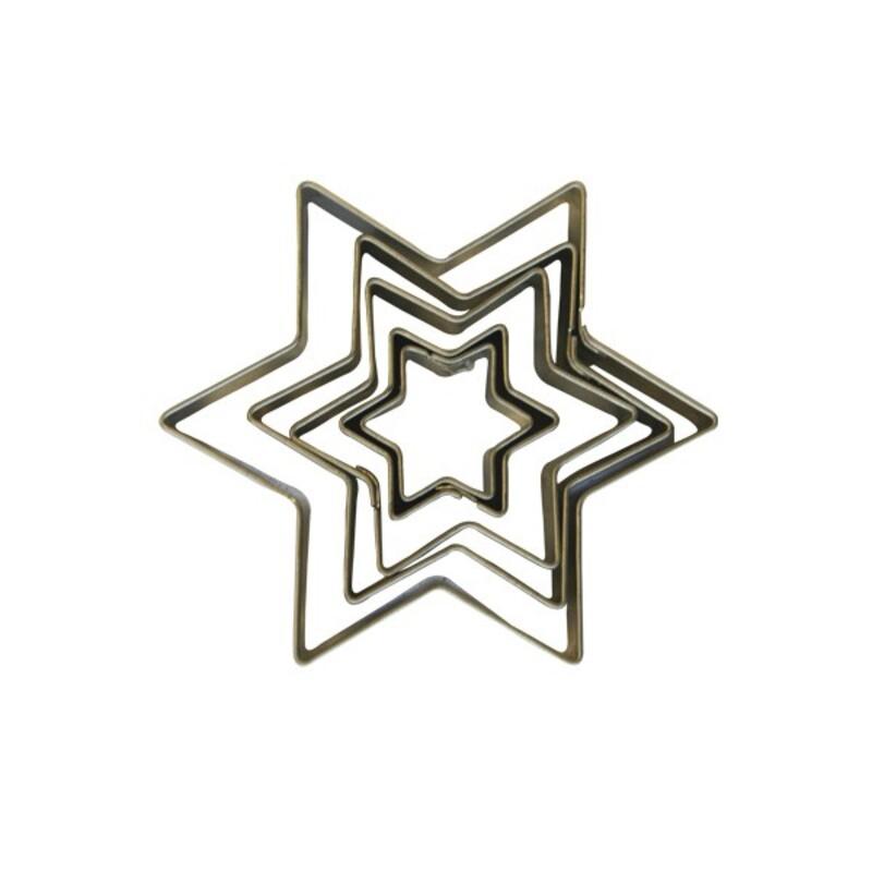 Emporte-pièce étoiles (x5)