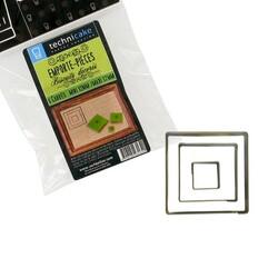 Emporte-pièce carrés (x3)