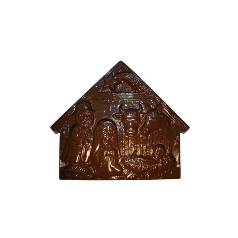Moule chocolat Crèche de Noël