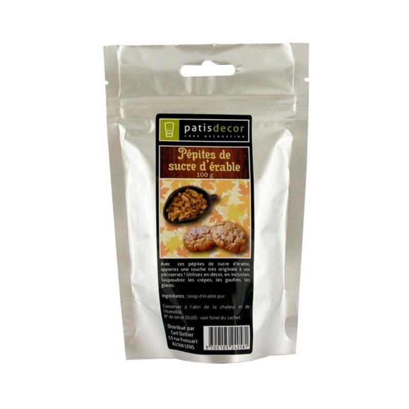 Pépites d'érable Patisdécor 100 g