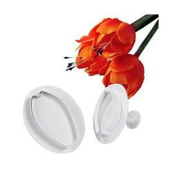 Découpoirs éjecteurs tulipes Patisdecor (x2)