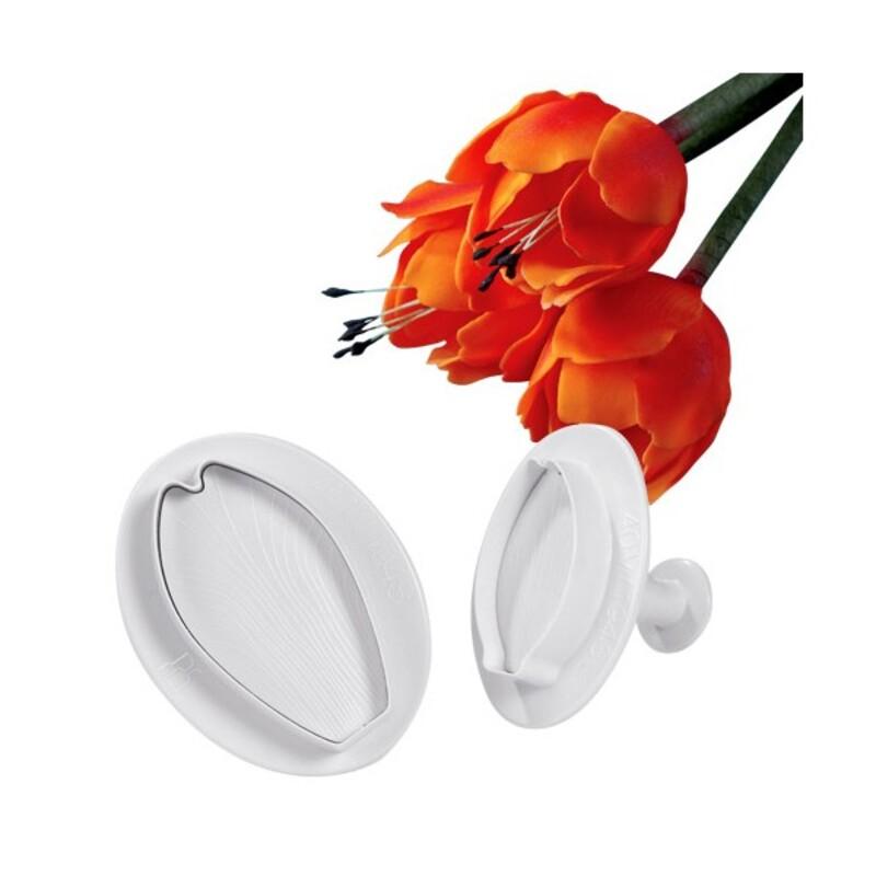 Découpoirs éjecteurs tulipes Technicake (x2)