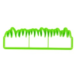 Découpoir bordure herbe Patisdécor