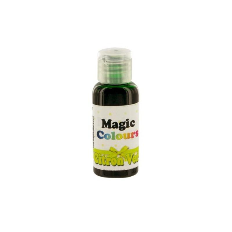 colorant gel casher citron vert magic colours 32 g - Colorant Alimentaire Vert