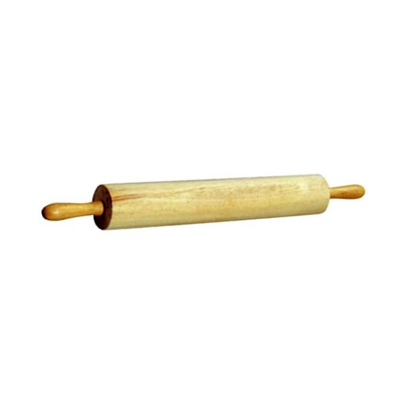 Rouleau à pâtisserie hêtre poignées tournantes 67 cm