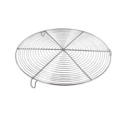 Grille à pâtisserie ronde avec pieds 28 cm