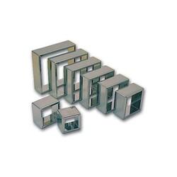 Découpoirs carrés inox x 8