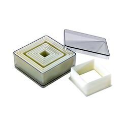 Découpoirs carrés unis polyglass x9