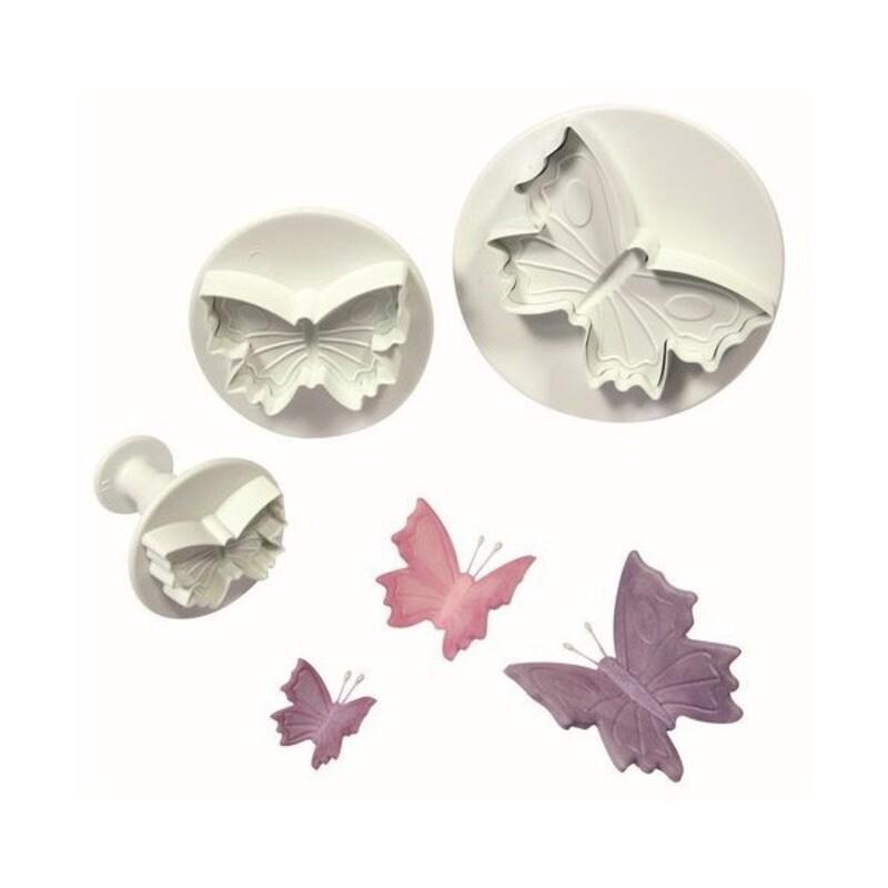 Découpoirs éjecteurs Papillons PME (x3)