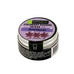 Colorant poudre irisé Améthyste 5 g