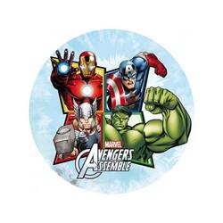 Disque sucre Avengers 20 cm x12