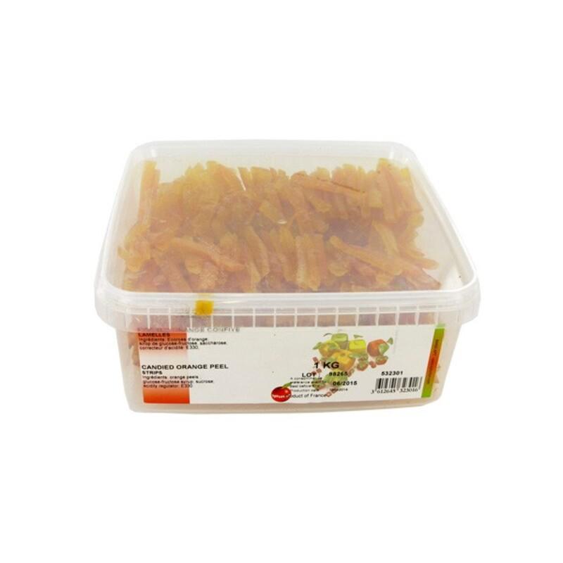 Ecorces d'orange confite 1 kg