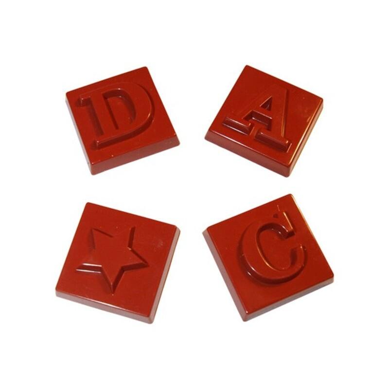 Moule chocolat Napolitains Alphabet