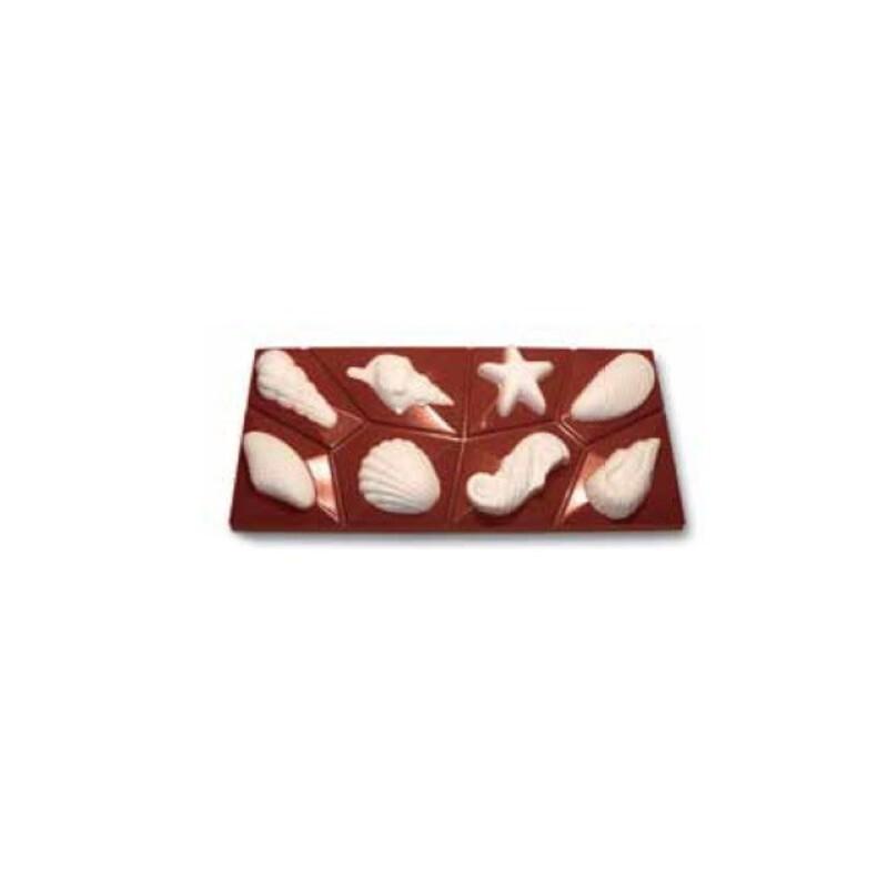 Plaque à chocolat Friture marine