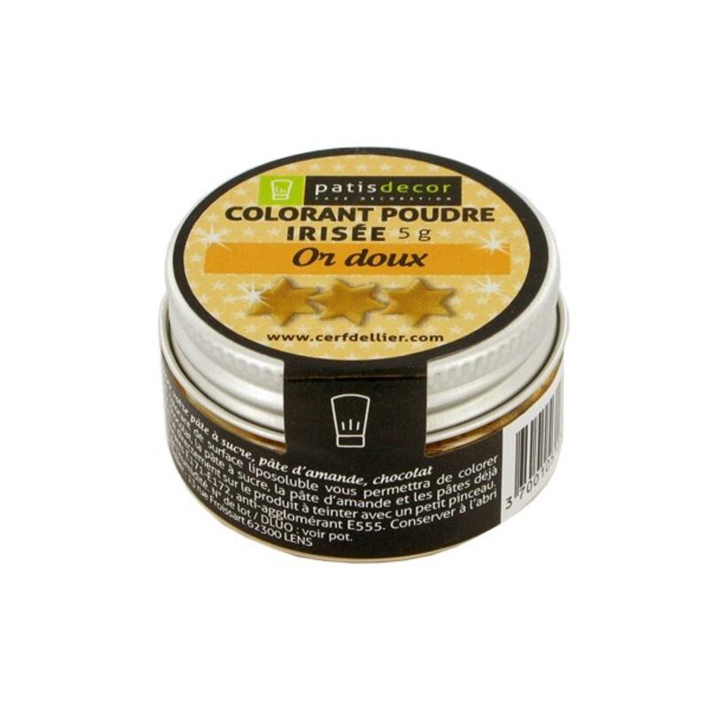 Colorant poudre irisé Or Doux 5 g
