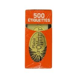 Etiquette adhésive Plaisir d'Offrir x500