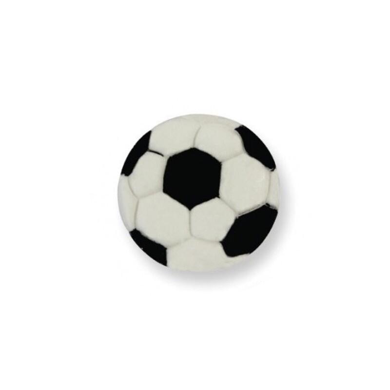 Ballon de football en sucre x6