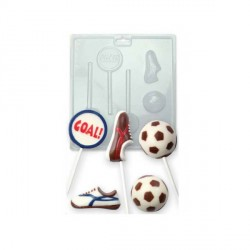 Moule chocolat PVC football