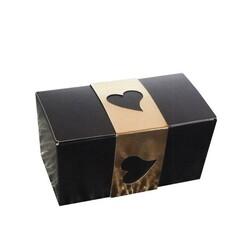 Ballotin Noir, intérieur Or 125 g (x 50)