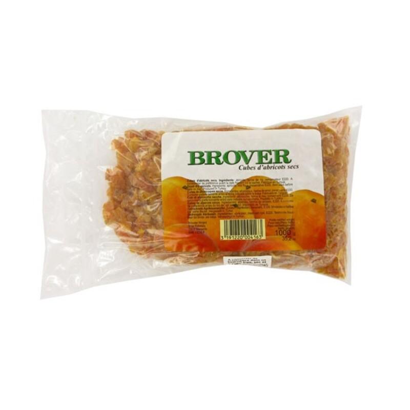 Cubes d'abricots secs 1 kg